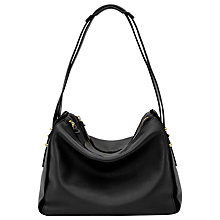 Buy Reiss Harland Leather Shoulder Bag Online at johnlewis.com