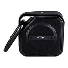 Buy TDK A12 Trek Micro Weatherproof Bluetooth NFC Portable Speaker Online at johnlewis.com