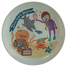 Buy Ethel and Co Personalised Under the Sea Decorative Plate Online at johnlewis.com
