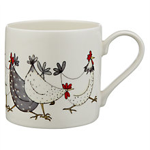 Buy Jersey Pottery Chicken Wrap Mug Online at johnlewis.com