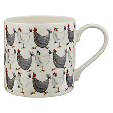 Buy Jersey Pottery Chicken Mug Online at johnlewis.com