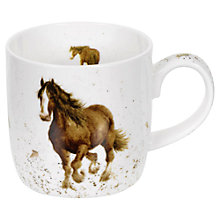 Buy Portmeirion Wrendale Horse Mug Online at johnlewis.com
