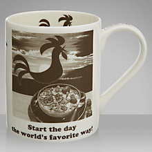Buy Portmeirion Kelloggs Start The Day Mug, 0.45L Online at johnlewis.com