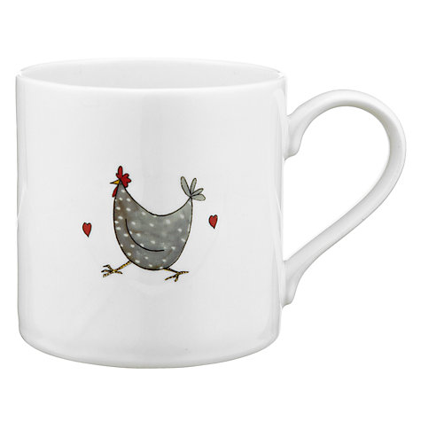 Buy Jersey Pottery Chicken Good Morning Mug Online at johnlewis.com