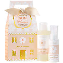 Buy Bath House Nordic Giftbag, Orange Flower Online at johnlewis.com