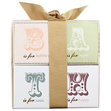 Buy Bath House Bath Salts Gift Set, Pack of Four Online at johnlewis.com