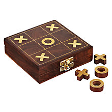 Buy Batela Noughts & Crosses Wooden Box Online at johnlewis.com