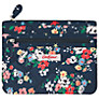 Cath Kidston Clifton Rose Quilted Double Zip Purse
