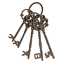 Buy Fallen Fruits Rusty Metal Keys Online at johnlewis.com