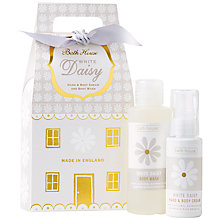 Buy Bath House Nordic Giftbag, White Daisy Online at johnlewis.com