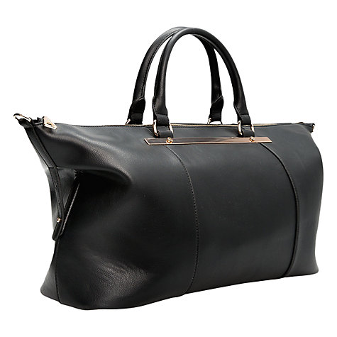 Buy Mango Plate Shopper Bag, Black Online at johnlewis.com