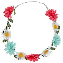 Buy John Lewis Girl Flower Hair Garland, Multi Online at johnlewis.com