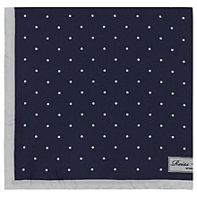 Buy Reiss Garbo Silk Polka Dot Pocket Square Online at johnlewis.com