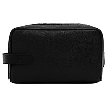 Buy Reiss Eldridge Pebbled Leather Wash Bag Online at johnlewis.com
