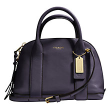 Buy Coach Bleecker Mini Preston Leather Satchel Bag Online at johnlewis.com
