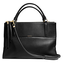 Buy Coach Borough Pebbled Leather Across Body Bag Online at johnlewis.com