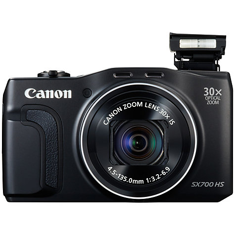 Canon PowerShot SX700 HS Digital Camera  HD 1080p  16 1MP  30x Optical    Canon Hd Camera 1080p