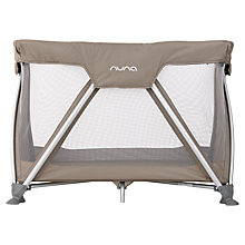Buy Nuna Sena Mini Travel Cot, Safari Online at johnlewis.com