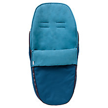 Buy Nuna Pepp Footmuff, Emerald Online at johnlewis.com