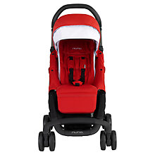 Buy Nuna Pepp Luxx Pushchair, Scarlet Online at johnlewis.com