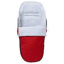 Buy Nuna Pepp Footmuff, Scarlet Online at johnlewis.com