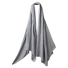 Buy East Sequin Embroidered Scarf, Mist Online at johnlewis.com