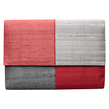 Buy East Sabrina Clutch Handbag, Mist Online at johnlewis.com
