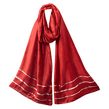 Buy East Serina Scarf, Rouge Online at johnlewis.com