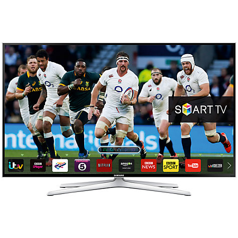 "Buy Samsung UE48H6400 LED HD 1080p 3D Smart TV, 48"" with Freeview HD, Voice Control and 2x 3D Glasses Online at johnlewis.com"