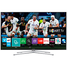 "Buy Samsung UE32H6400 LED HD 1080p 3D Smart TV, 32"" with Freeview HD, Voice Control, Built-In Wi-Fi and 2x 3D Glasses Online at johnlewis.com"