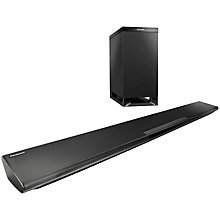 Buy Panasonic SC-HTB480 2.1 Bluetooth NFC Sound Bar with Wireless Subwoofer Online at johnlewis.com