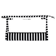 Buy Tender Love & Carry Striped Transparent Washbag, Black / White Online at johnlewis.com