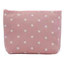 Buy John Lewis Medium Cotton Toiletries Bag Online at johnlewis.com