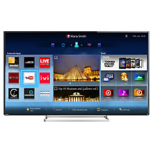 "Buy Toshiba 55L7453 LED HD 1080p 3D Smart TV, 55"" with Freeview HD with Monster HDMI Cable Online at johnlewis.com"