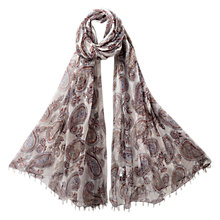 Buy East Anokhi Pemba Print Scarf, Multi Online at johnlewis.com