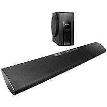 Buy Panasonic SC-HTB18 2.1 Bluetooth Sound Bar with Wireless Subwoofer Online at johnlewis.com