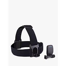 Buy GoPro Head Strap Mount and QuickClip for All GoPros Online at johnlewis.com
