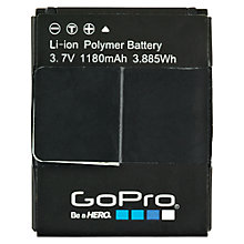 Buy GoPro Camera Battery for HERO3 & HERO3+ Online at johnlewis.com