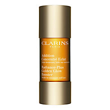 Buy Clarins Radiance Plus Golden-Glow Booster, 15ml Online at johnlewis.com