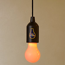 Buy Coloured Light On a Rope Online at johnlewis.com