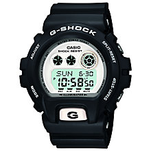 Buy Casio GD-X6900-7ER Men's G-Shock Chronograph Digital Watch, Black Online at johnlewis.com