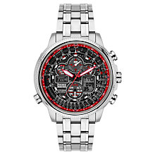 Buy Citizen JY8040-55E Men's Limited Edition Navihawk Red Arrows Chronograph Watch Online at johnlewis.com
