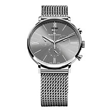 Buy Maurice Lacroix EL1088-SS002-810 Men's Stainless Steel Mesh Bracelet Watch, Silver Online at johnlewis.com