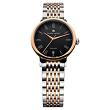 Buy Maurice Lacroix LC6063-PS103-310 Women's Rose Gold And Stainless Steel Bracelet Watch Online at johnlewis.com