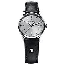 Buy Maurice Lacroix EL1084-SS001-110 Women's Leather Strap Watch Online at johnlewis.com
