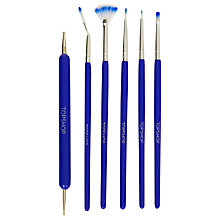 Buy TOPSHOP Nail Art Brush Kit Online at johnlewis.com