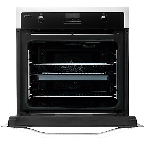 Buy John Lewis JLBIOS616 Single Oven, Stainless Steel Online at johnlewis.com