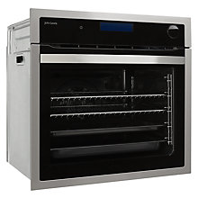 Buy John Lewis JLBIOS618 Single Steam Oven, Stainless Steel Online at johnlewis.com