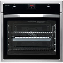 Buy John Lewis JLBIOS615 Single Oven, Stainless Steel Online at johnlewis.com