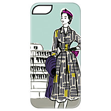 Buy Targus Case with Ladies Pattern for iPhone 5 & 5s, 1950s Print, Green Online at johnlewis.com